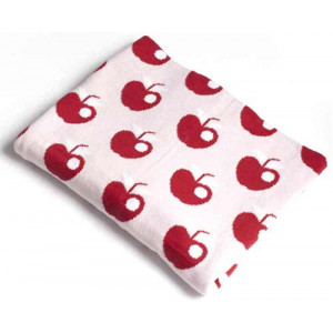 Apples Design Soft Baby Blanket