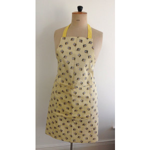 Kitchen Apron 100% Cotton Busy Bees By Alex Clark