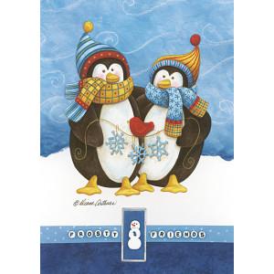 Frosty Friends 5 x 7 Print