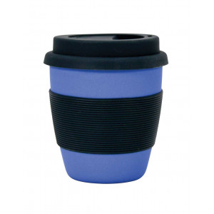Bamboo Fibre Reusable Travel Coffee Mug 350ml