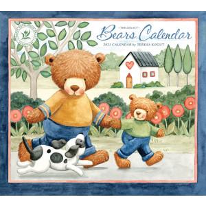 Bears by Teresa Kogut 2021 Legacy Wall Calendar