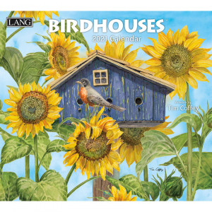 Birdhouses Tim Coffey 2021 Lang Wall Calendar