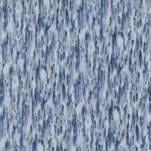 Blue Bark Landscape Nature Quilt Fabric