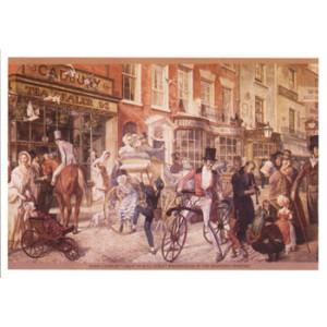 Cadbury Shop Nostalgic Postcard