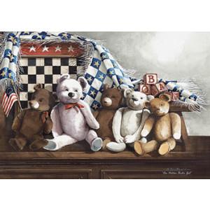 Teddy Bears 5 x 7 Print