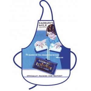 Kitchen Apron Retro Nostalgic Cadburys Milk Chocolate 100% Cotton