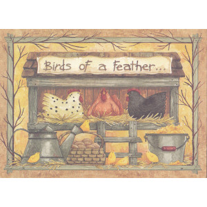 Birds of a Feather Card Diane Knott