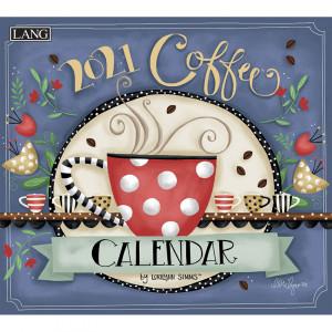 Coffee Lorilynn Simms 2021 Lang Wall Calendar