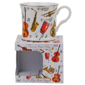 Concerto Fine Bone China Palace Tea Coffee Mug Cup