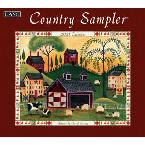 Country Sampler Cheryl Bartley 2021 Lang Wall Calendar