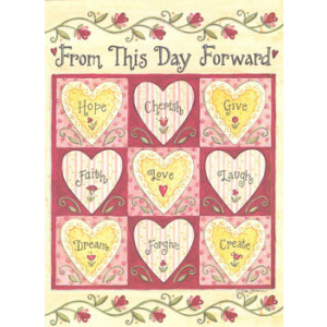 From this Day Forward Wedding Card