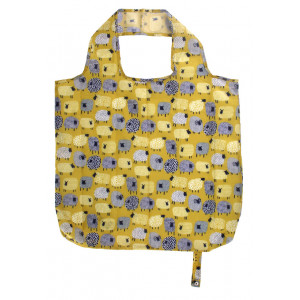 Reusable Grocery Shopping Tote Bag Dotty Sheep