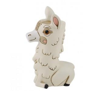 Baby Llama Small Resin Indoor Vase