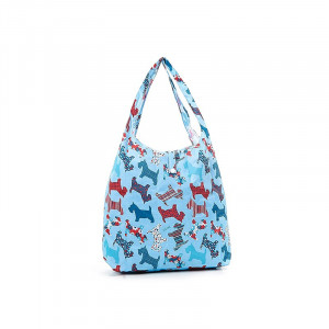 Scotty Dogs Eco-Chic Foldaway Waterproof Shopper Bag
