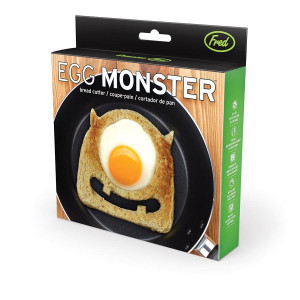 Breakfast Bread Toast Cutter Egg Monster Fred