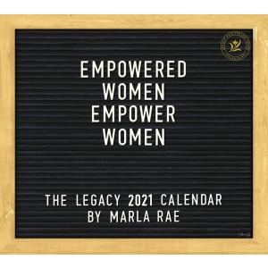 Empowered Women by Marla Rae 2021 Legacy Wall Calendar