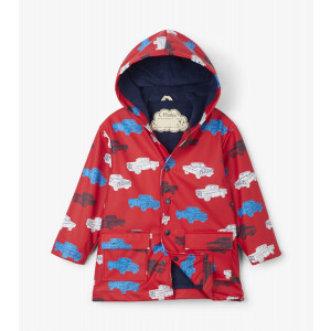 Classic Pickup Trucks Kids Childrens Raincoat By Hatley