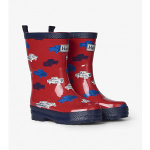 Classic Pickup Trucks Shiny Kids Rainboots Gumboots By Hatley
