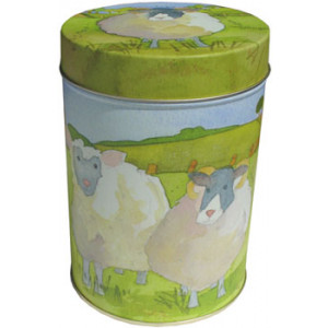 Sheep Farm Animal Emma Ball Tin Kitchen Canister