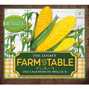 Farm to Table by Mollie B 2021 Legacy Wall Calendar