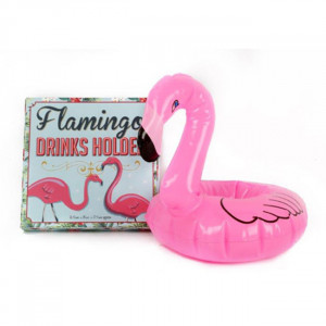 Pink Flamingo Drink Holder Floating Pool Bath Swimming