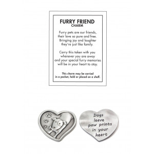 Furry Friends Pewter Cat and Dog Charms