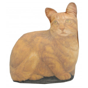 Doorstop Ginger Tabby Cat