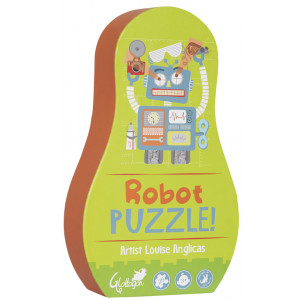 25 Piece Childrens Robot Puzzle