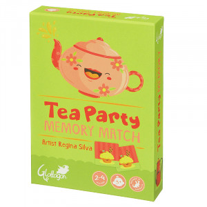 Tea Party Memory Match Kids 2 Games in 1