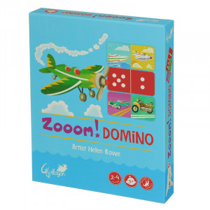 Zoom Domino 2 Games in 1 Kids Puzzle
