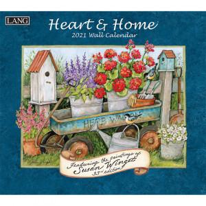 Heart and Home Susan Winget 2021 Lang Wall Calendar