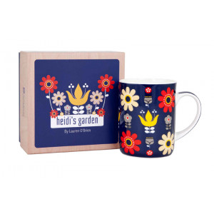 Heidi's Garden Floral Design Fine Bone China Tea Coffee Mug