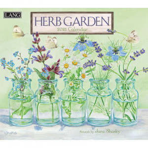 Herb Garden Jane Shasky 2021 Lang Wall Calendar