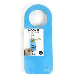 Hook It Blue Sticky Post-It Notes
