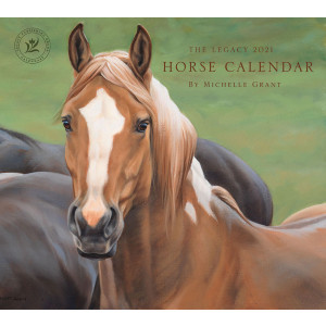 Horses By Michelle Grant 2021 Legacy Wall Calendar