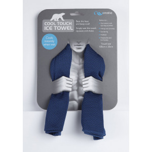 Cool Touch Ice Towel Keep Cool Scarf Sport Exercise Cools Instantly When Wet