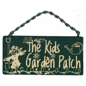 The Kids Garden Patch Home & Garden Sign