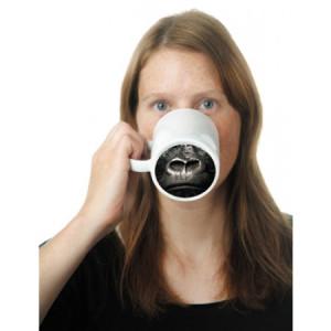 King Kong Gorilla Nose Fun Tea Coffee Mug Cup