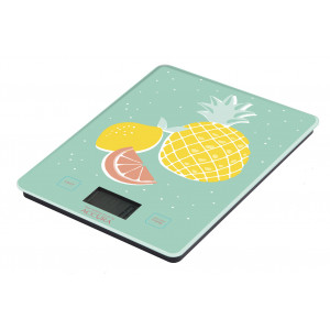 Electronic Glass Kitchen Scales Meat Food Weight 5kg Fruit Design