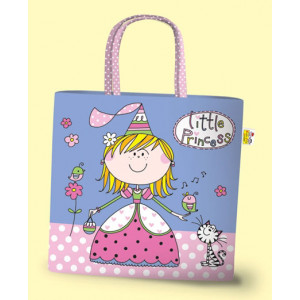 Little Princess Girls PVC Mini Tote Bag