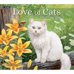 Love of Cats Persis Clayton Weirs 2021 Lang Wall Calendar