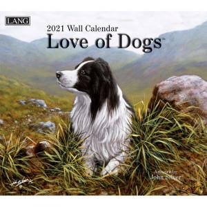 Love of Dogs John Silver 2021 Lang Wall Calendar