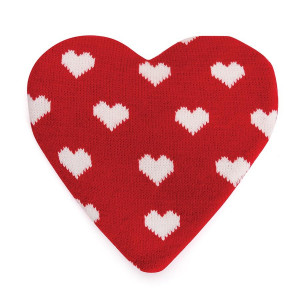 Love Heart Heat Pack in Knitted Cover