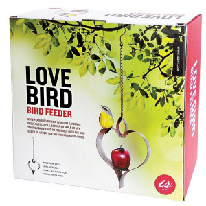 Love Bird Garden Bird Feeder With Skewer for Fruit or Vegetables