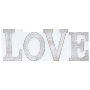 Love Printers Block Shelf Sitter Plaque