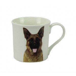 German Shepherd Fine China Tea Coffee Mug