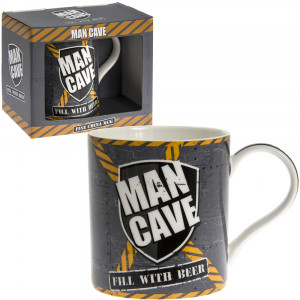 Man Cave Fill With Beer Fine China Tea Coffee Mug