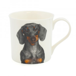 Dachshund Fine China Tea Coffee Mug