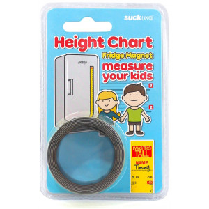 Personalised Childrens Magnet Height Chart