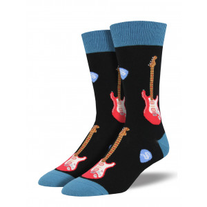 mens-socks-electric-guitar